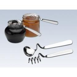 Cuillère à miel en inox (lot de 2)