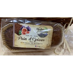 Pain d'épices figues - 350g