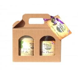 Coffret nutimiel - acacia (2 pots)